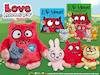 Win a Fantastic Bundle of Love Monster Goodies  sweepstakes