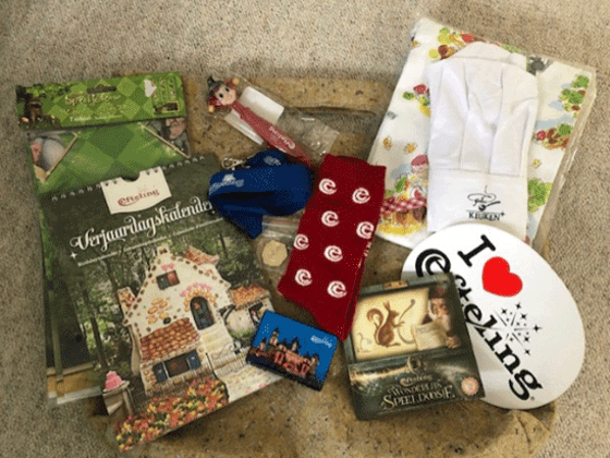WIN A GOODIE BAG FULL OF EFTELING BRANDED GOODIES! sweepstakes