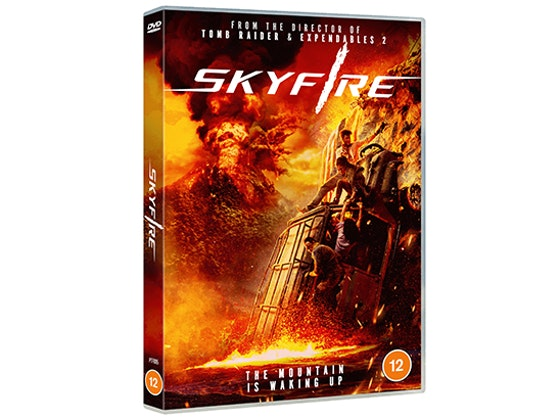Win explosive new disaster thriller Skyfire on DVD sweepstakes
