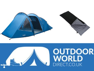 Win a camping bundle worth £350 sweepstakes