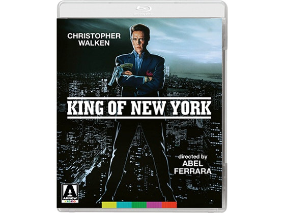 Win King of New York on Blu-Ray sweepstakes