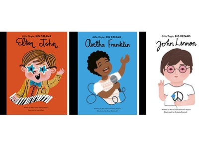 Win three books from Little People BIG DREAMS sweepstakes