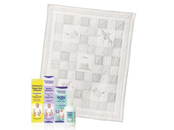 Win a White Company Noah's Ark Cot Quilt with Metanium sweepstakes