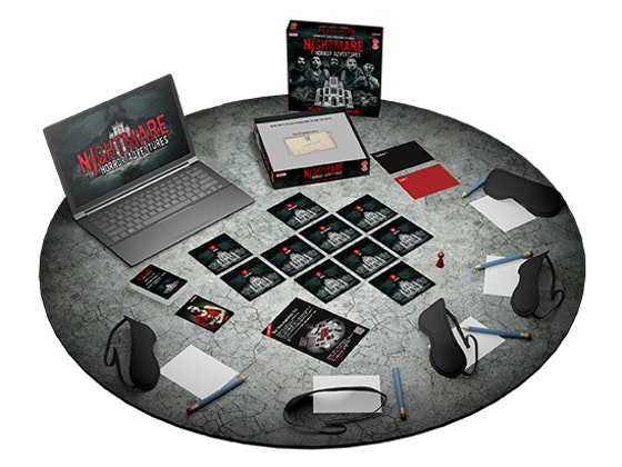 WIN! ONE OF FIVE COPIES OF NIGHTMARE HORROR ADVENTURES, THE WORLD'S SCARIEST GAME 16+ sweepstakes