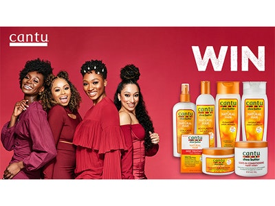 It's competition time! WIN £50 worth of Cantu products sweepstakes