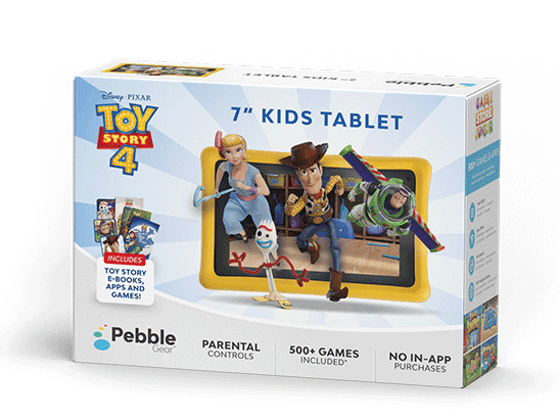 Win a Pebble Gear New Kid-Friendly Tablet sweepstakes