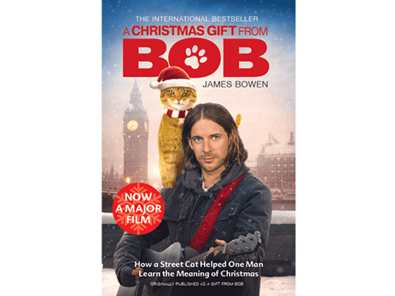 Win a DVD / Book bundle with A CHRISTMAS GIFT FROM BOB sweepstakes
