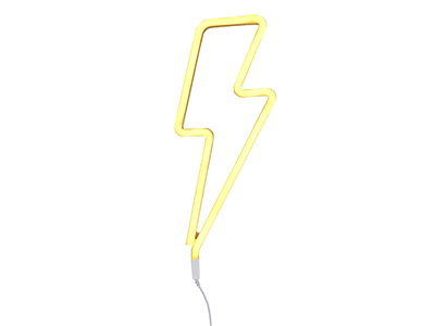 WIN 1 OF 3 RETRO KIDS LIGHTNING BOLT NEON LAMPS sweepstakes
