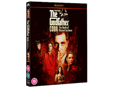 Win Mario Puzo's The Godfather, Coda: The Death of Michael Corleone on Blu-ray™ sweepstakes