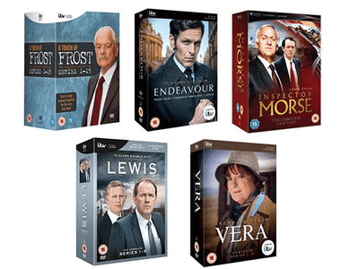 Win a Bundle of Crime Drama DVDs from ITV Studios Just in Time for Christmas!  sweepstakes