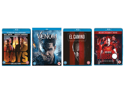 Win a Bundle of Action Packed Films on Blu-rays  this Christmas!! sweepstakes
