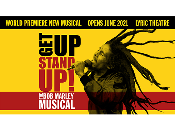 Win a pair of tickets to see Get Up, Stand Up! The Bob Marley Musical sweepstakes
