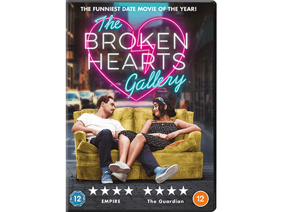 Win THE BROKEN HEARTS GALLERY on DVD sweepstakes