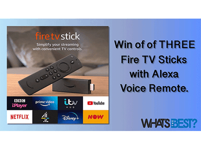 Win one of three Fire Sticks with Alexa Voice Remote sweepstakes