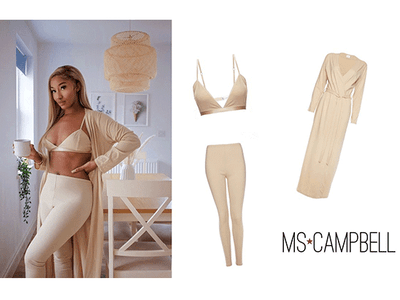 Win a luxury loungewear set with Ms Campbell  sweepstakes