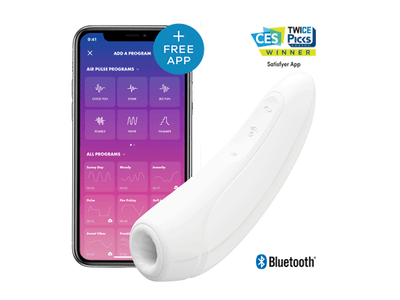 Win a Curvy 1+ from Satisfyer, to celebrate its ground-breaking App SATISFYER CONNECT sweepstakes
