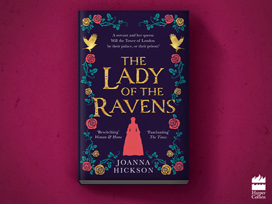 Win a paperback copy of The Lady of the Ravens  sweepstakes