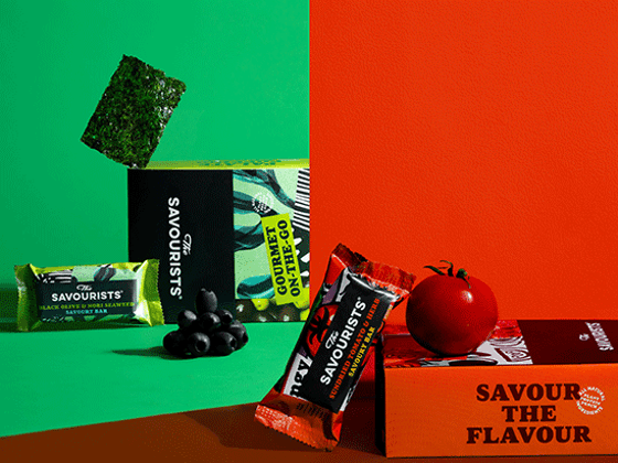 WIN NEW SAVOURY SNACK BARS FROM THE SAVOURISTS sweepstakes