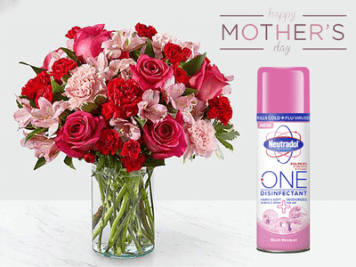 WIN A 6-MONTH SUPPLY OF FLOWERS WITH NEUTRADOL ONE THIS MOTHER'S DAY! sweepstakes