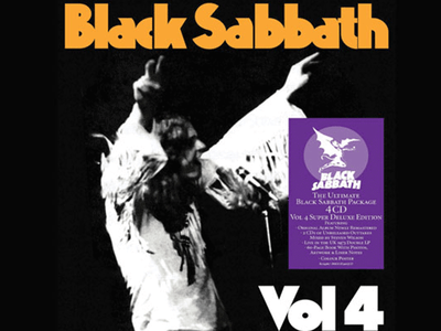 WIN A CD COPY OF BLACK SABBATH VOL 4 SUPER DELUXE EDITION sweepstakes