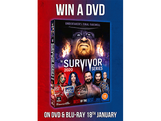To Celebrate the Blu-ray and  DVD release of WWE: Survivor Series 2020 we are giving away DVD copies sweepstakes