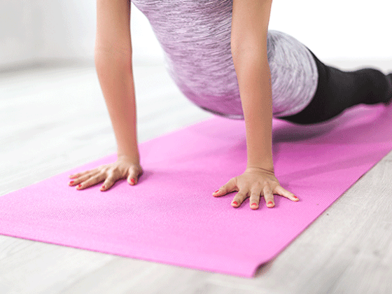 Win a Yoga Mat with Carrying Strap sweepstakes