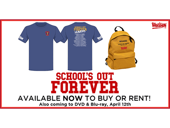 Win a SCHOOL'S OUT FOREVER bundle sweepstakes