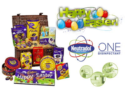 WIN A CADBURY'S ULTIMATE EASTER HAMPER WITH NEUTRADOL ONE! sweepstakes