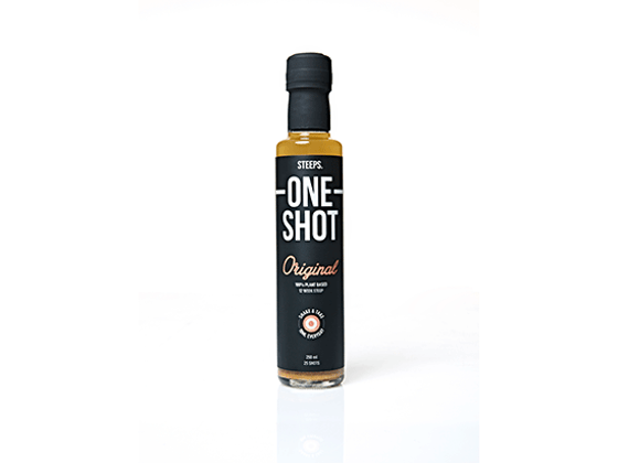 WIN the ONE SHOT YOUR BODY NEEDS with STEEPS ONE SHOT!  sweepstakes