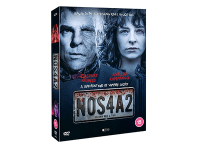 WIN CHILLING HORROR SERIES 'NOS4A2 SERIES 1 & 2 DVD BOX SET' STARRING ZACHARY QUINTO sweepstakes