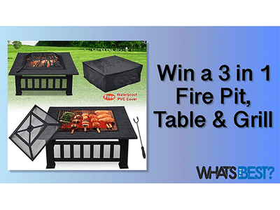 Win a Fire Pit worth £150! sweepstakes