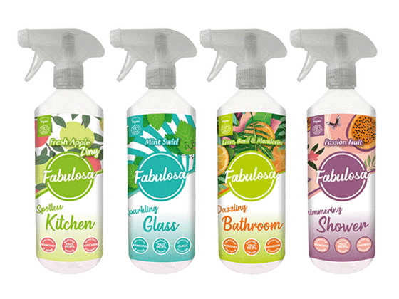 Win a Bundle of Fabulosa Cleaning Products Worth over £70! sweepstakes