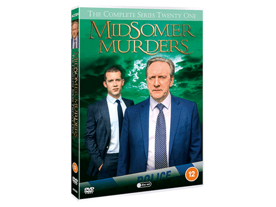 WIN Midsomer Murders series 21 on DVD sweepstakes