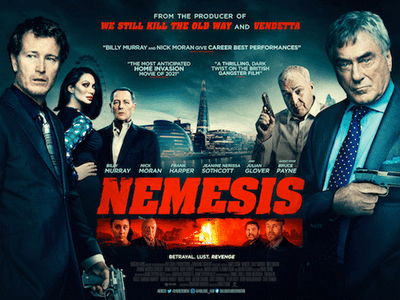 WIN BRITISH CRIME THRILLER NEMESIS ON DVD! sweepstakes