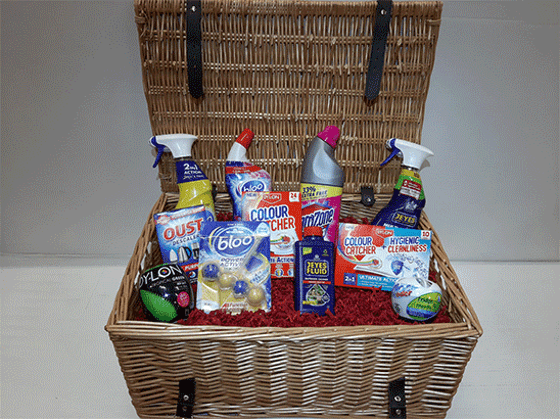 Win A Fabulous Spring Cleaning Hamper  sweepstakes