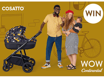 Win Cosatto's newest Travel System sweepstakes