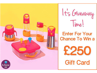 Spring is here: b.box UK is celebrating the much-anticipated sun filled days with a giveaway! sweepstakes