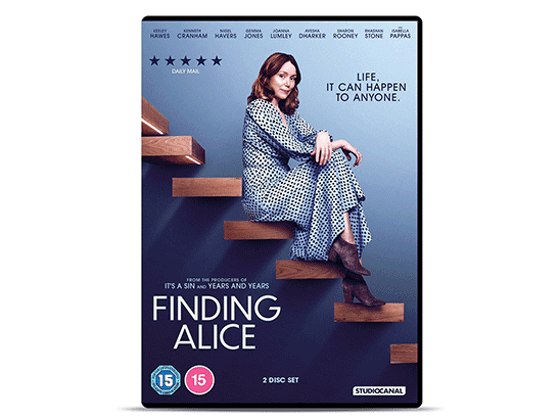 Win FINDING ALICE on DVD sweepstakes
