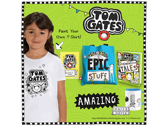 Win a Fantastic Bundle of Brilliant Tom Gates Goodies   sweepstakes