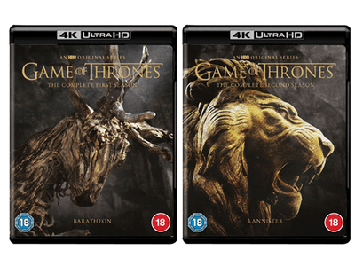 Win the entire 4K Ultra HD collection of Game of Thrones sweepstakes