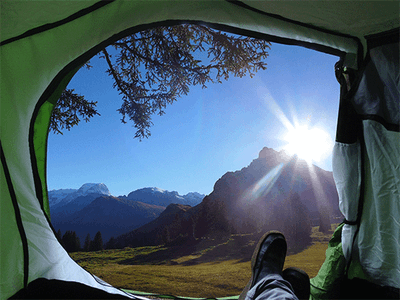 Win a Compact 3 Man Tent sweepstakes