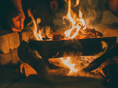 Win a Fire Pit! sweepstakes