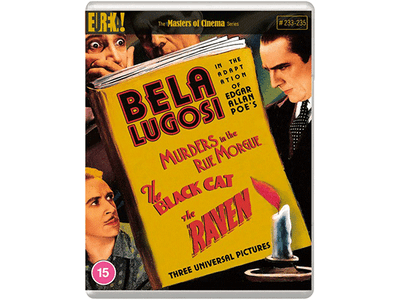 Win a Blu-ray copy of THREE Edgar Allan Poe ADAPTATIONS, a trio of classic 1930s Horror films sweepstakes