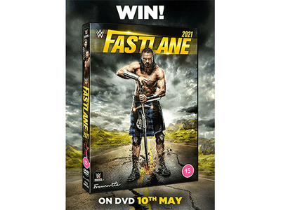 To celebrate the DVD release of Fastlane 2021 we are giving away a DVD copy to one lucky winner. sweepstakes