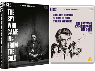 Win a Blu-ray copy of THE SPY WHO CAME IN FROM THE COLD, an ice-cold espionage thriller starring Richard Burton sweepstakes