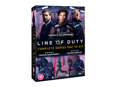 WIN LINE OF DUTY COMPLETE SERIES ONE – SIX sweepstakes