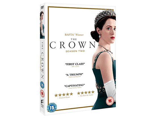 Win a copy of The Crown series 1,2,3 on DVD sweepstakes