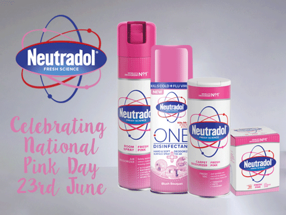 Win a Kylie Minogue Gift Boxed Pink Prosecco & a bundle of Neutradol Pink Products! sweepstakes