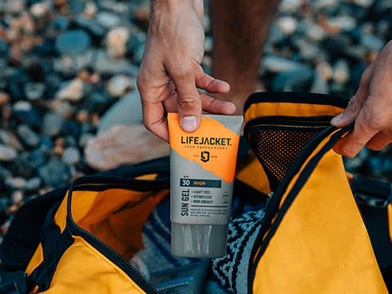 Win LifeJacket Skin Protection products worth £100 sweepstakes