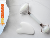 RoselynBoutique Jade Roller for Face and Gua Sha Set sweepstakes